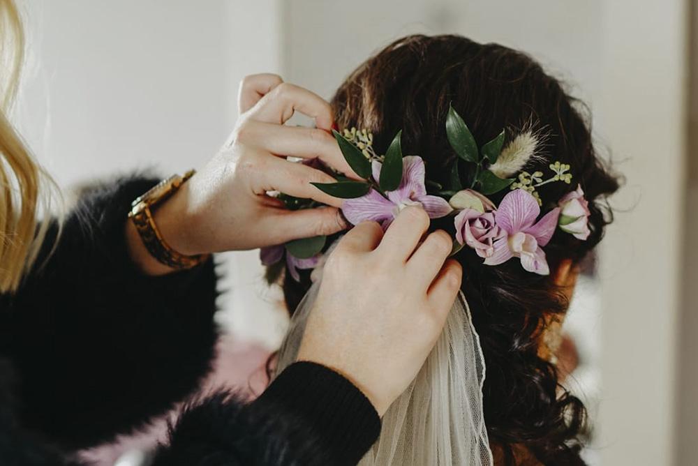Simple Bridal Headpiece