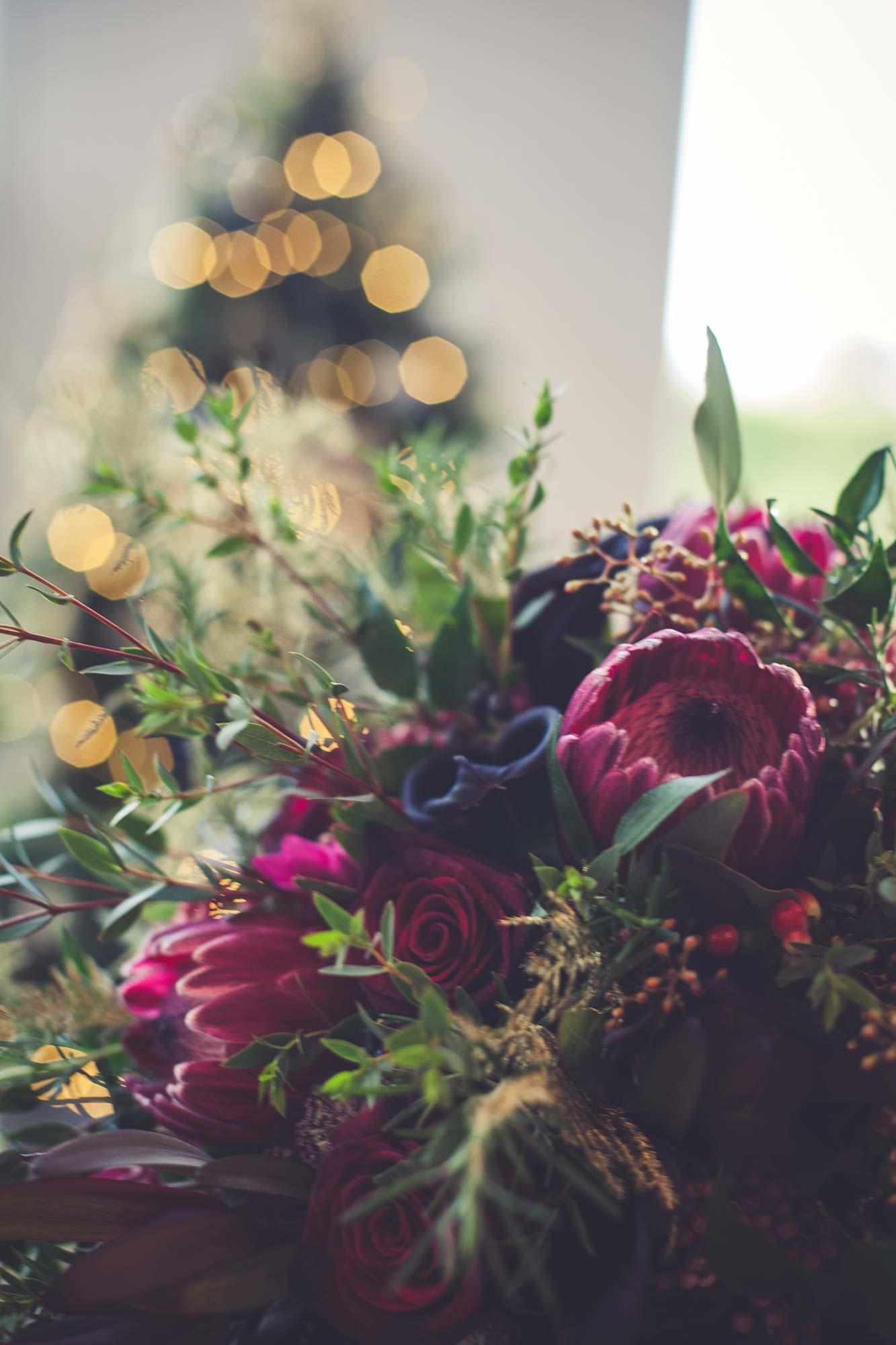 Christmas Wedding Flowers
