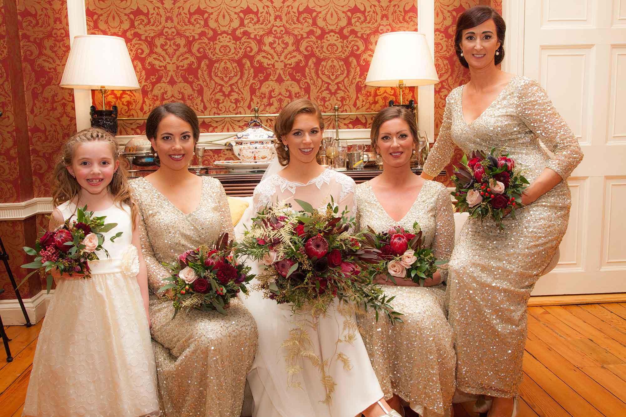 Natural Elegant Wedding Bouquets