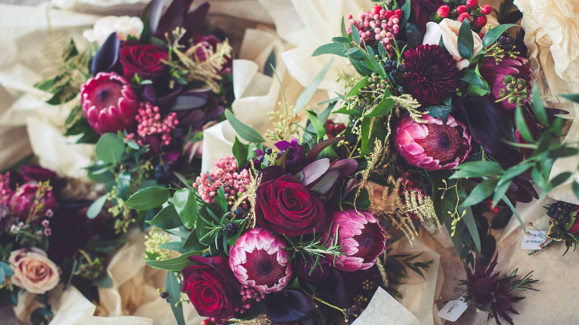 Luxurious Wedding Bouquets