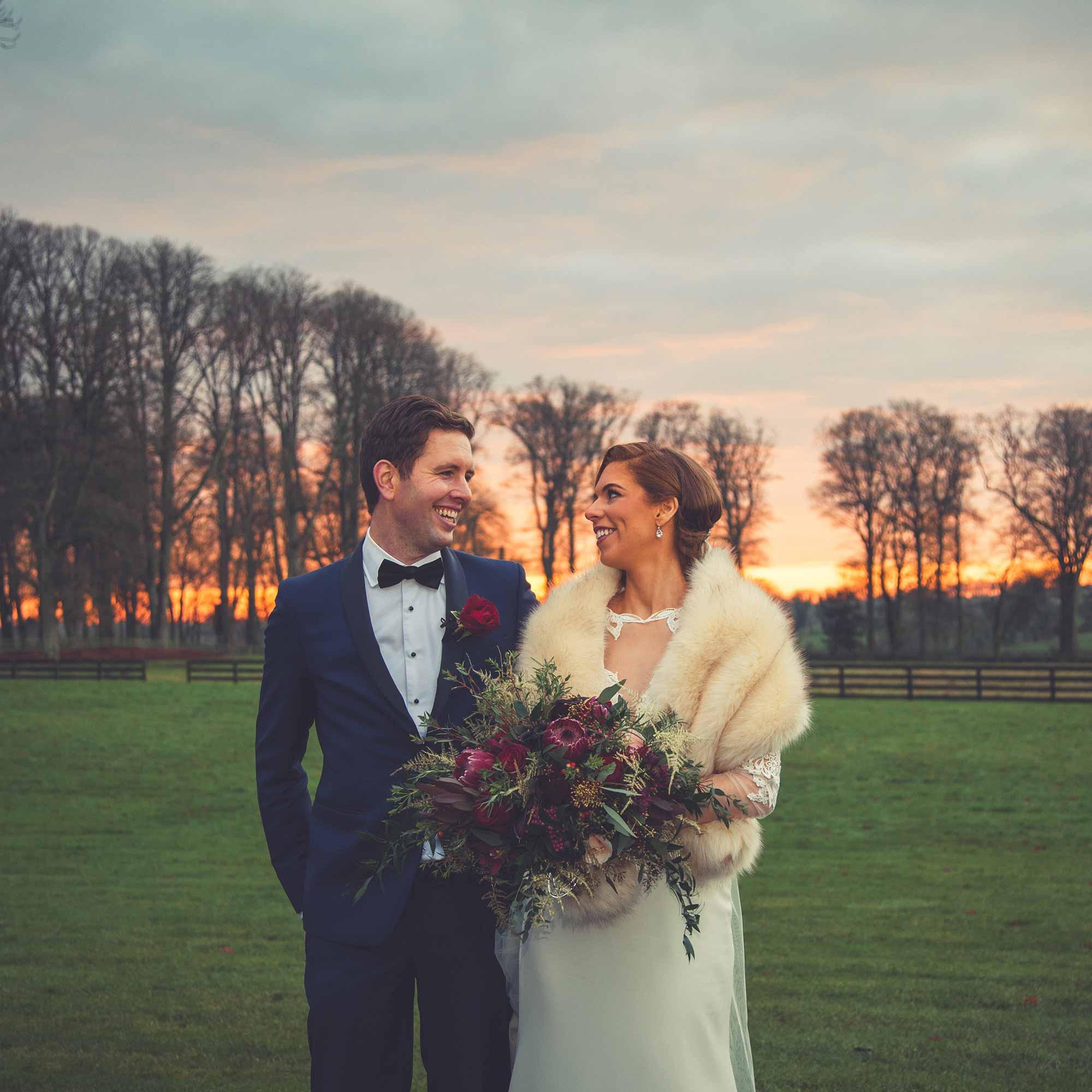 Natural Winter Wedding