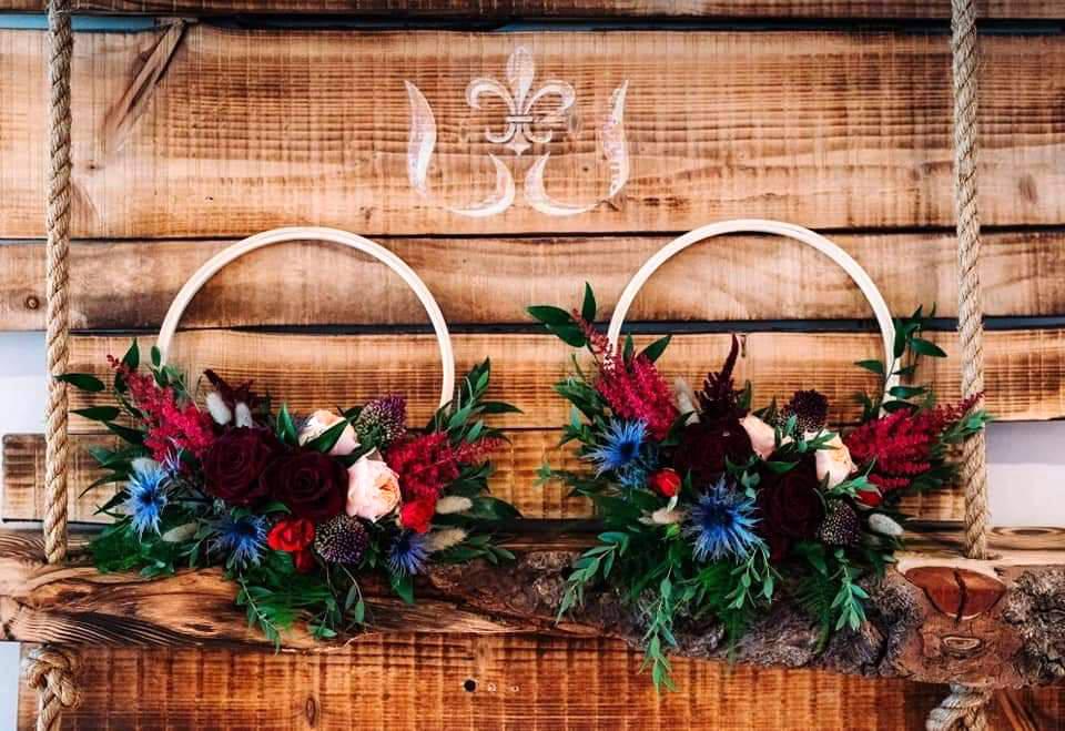 Floral Hoop Wreathes