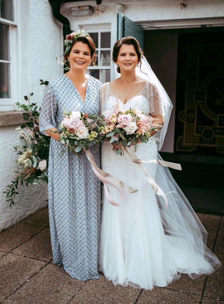 Pastel Pink Wedding Bouquet