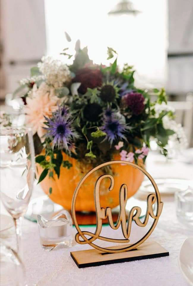Wedding Table Floral Centrepiece