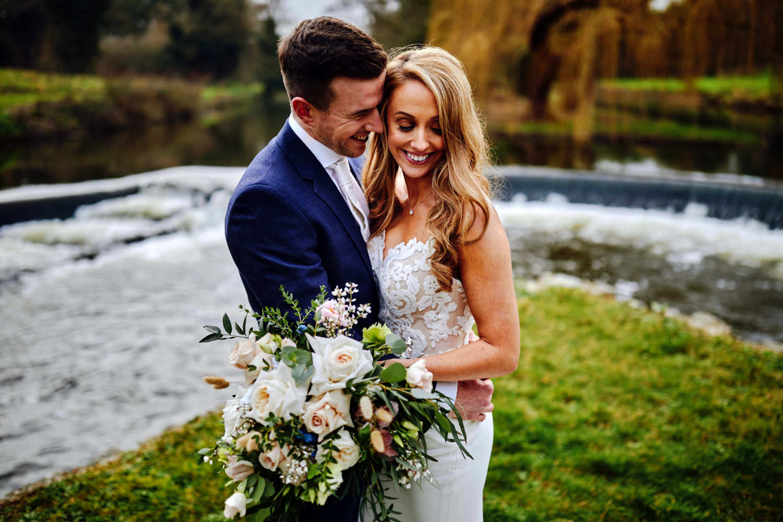 Bride and Groom at Bellingham Castle